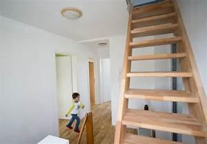 Dachbodentreppe Selber Bauen : bodentreppe als platzsparender zugang zum dachboden ~ Lizthompson.info Haus und Dekorationen