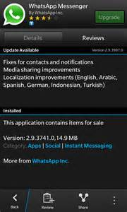 whatsapp free for blackberry z10