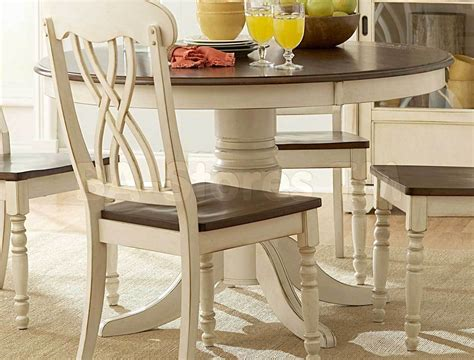 Kitchen Tables : White Round Dining Room Table