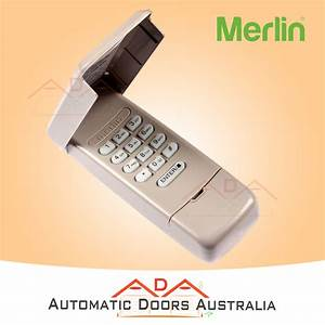 Wireless Keypad Merlin Chamberlain E840m External Keypad