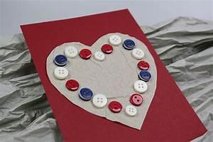 Geburtstagskarte Basteln Einfach : valentinskarte basteln ~ Orissabook.com Haus und Dekorationen