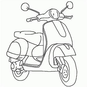 Pin Scooter Colouring Pages Page 2 on Pinterest