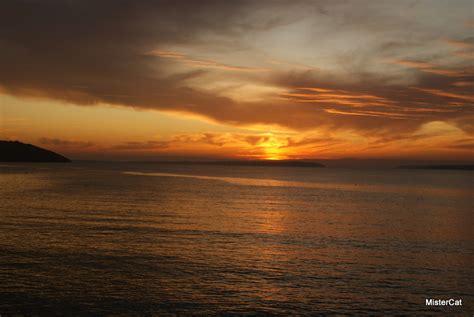 coucher de soleil brest