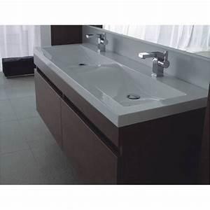 Badmöbel Mit Doppelwaschbecken : badezimmerm bel doppelwaschbecken aufgesetzt ~ Indierocktalk.com Haus und Dekorationen
