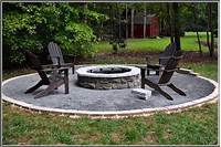 outdoor fire pit design In Ground Fire Pit Kit - Sakuraclinic.co