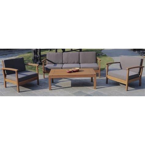 FINLANDEK HEIMO Salon de jardin 4 pieces - FINLANDEK - PLEIN AIR - Pickture