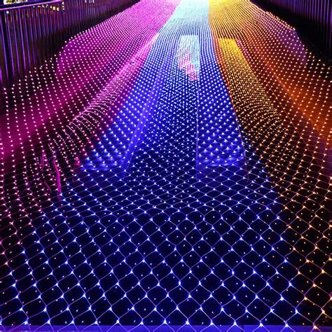 mesh christmas lights outdoor lights mesh lights decoration outdoor led net light garden decorative waterproof