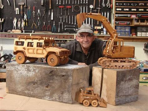 wooden toy garage woodworking projects plans
