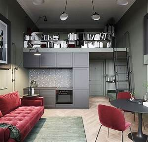 Modern, Dark, Classics, In, Tiny, Studio, Loft, In, 2020, With