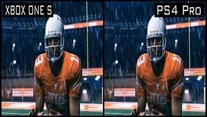 Madden NFL 18 PS4 Pro vs Xbox One s Graphics Comparison ...