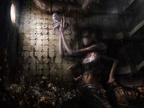 pavel lagutin fantasy dark horror evil apocalyptic women