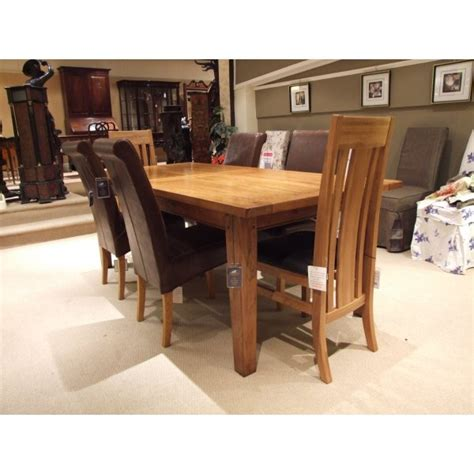 halo wentworth large extending dining table with 6 chairs