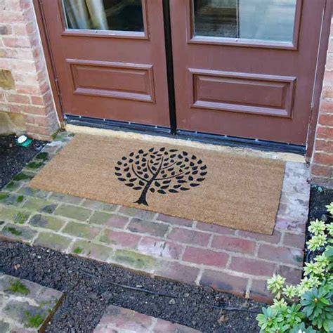 Modern Doormats Outdoor by Quot Modern Landscape Contemporary Doormat Quot