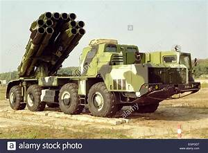 Smerch multiple launch rocket system Stock Photo, Royalty ...