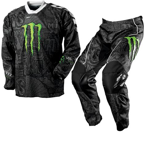 monster energy motocross gear one industries carbon monster energy mx race motocross