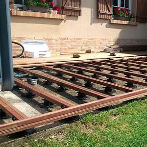 nivremcom pose terrasse bois sur plot leroy merlin With pose terrasse en bois sur plot