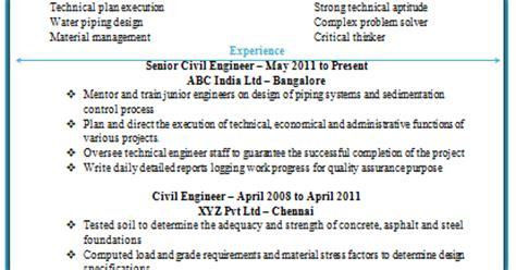 civil site engineer resume doc 10000 cv and resume sles with free civil engineering resume doc