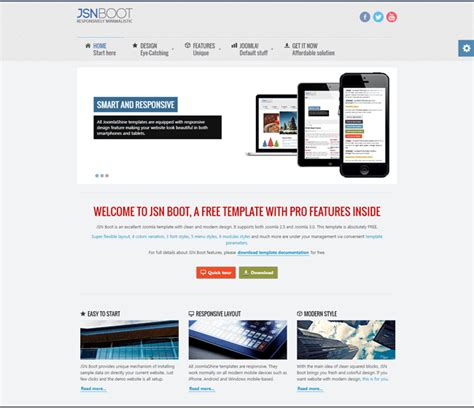 Best Joomla 2 5 Templates Free Download by Best Free Responsive Templates For Joomla 3 X