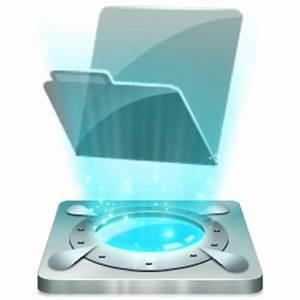 Folder Icon | Hologram Dock Iconset | Nishad2m8