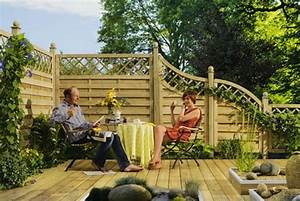 Terrasse Günstig Bauen : sichtschutz zaun g nstig selber bauen ~ Lizthompson.info Haus und Dekorationen
