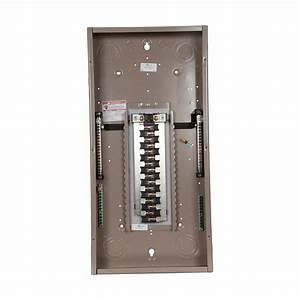 Eaton Ch 225 Amp 32-space 32-circuit Indoor Main Lug Loadcenter With Cover-ch32l225d