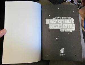 New Book: Astronaut Academy, by Dave Roman | First Second ...