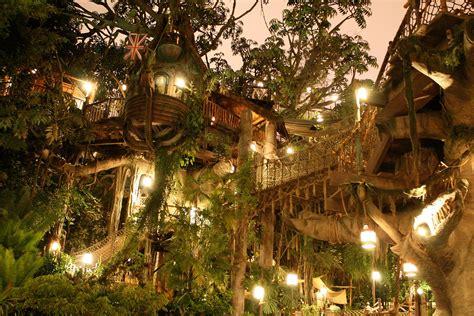 tarzans treehouse  disneyland