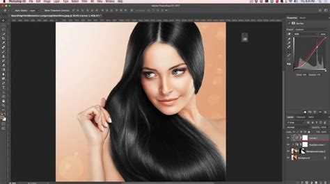 hair color change how to change hair color in photoshop tutorial photoshopcafe