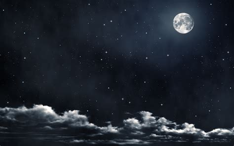 Moon And Clouds Wallpaper by Cloud Wallpaper Hd Pixelstalk Net