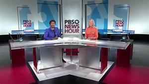 PBS NewsHour Broadcast Set Design Gallery