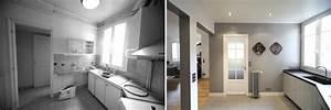 avant apres transformation d39un appartement de 65m2 du With relooking interieur avant apres