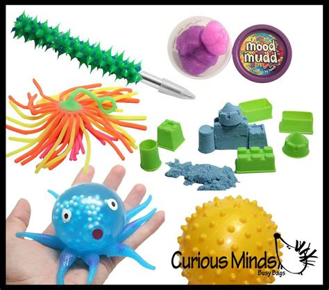 Sensory Bundle 1 Tactile Toy Assortment Bundle For