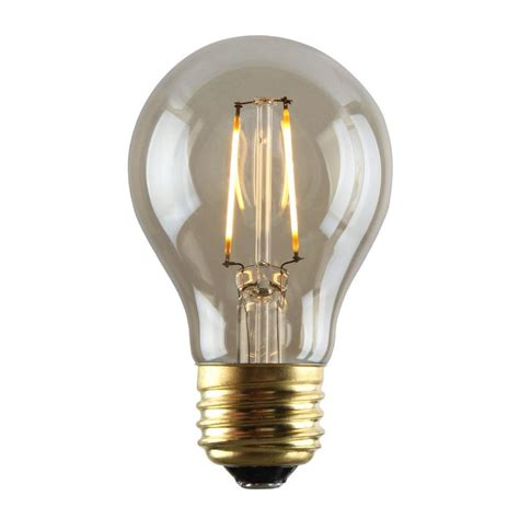 luminance 2w equivalent 2 200k a19 dimmable led filament