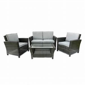 Rattan Lounge Set : 4 seat outdoor rattan sofa sets ~ Orissabook.com Haus und Dekorationen