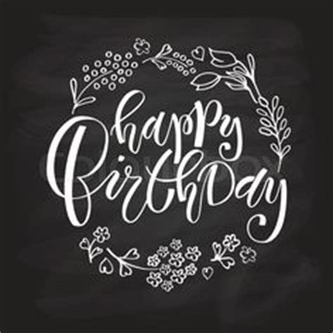 happy birthday lettering images bday cards