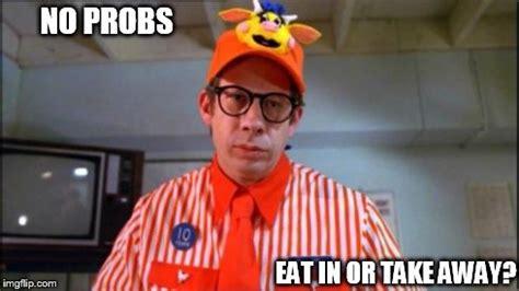 fast food worker imgflip