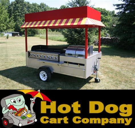 hot dog cart vending concession stand trailer  grand
