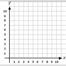 Blank Grid For Coordinates (axis Range 0 To 10