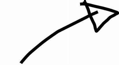 Hand Arrow Drawn Clip Clipart Drawing Transparent