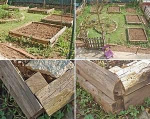 Carre De Jardin Potager : construire des carr s de jardin en bois kameleon factory ~ Premium-room.com Idées de Décoration