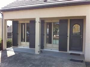 Phototheque des realisations wilco for Porte de garage coulissante jumelé avec porte paliere blindee