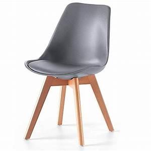 Stuhl Kunstleder Grau : retro stuhl lucian b 2er set mca grau kunstleder kunststoff massivholz esszimmerst ~ Indierocktalk.com Haus und Dekorationen