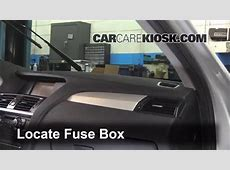 Interior Fuse Box Location 20112017 BMW X3 2013 BMW X3