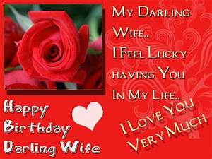Happy Birthday Wishes for Wife with images, Quotes and ...