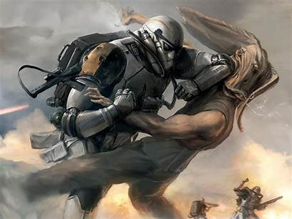 Wars Star Stormtrooper Clone Trooper Artwork Science