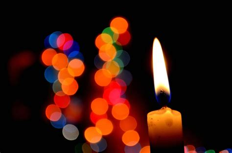 Luce Candela by Foto Gratis Candela Luce Decorazione Scuro Fiamma Fuoco