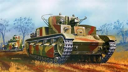 Army Tank Tanks Painting Desktop Heer Panzer