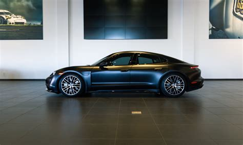 Matte Black Taycan Turbo   Porsche Taycan Forum ...