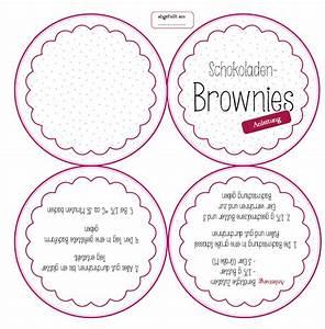 Brownies Im Glas : steffi 39 s blog diy backmischung im glas ~ Orissabook.com Haus und Dekorationen