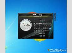 Date V6 Windows 7 Desktop Gadget